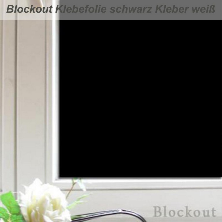 Blockout Folie Macht Fenster Absolut Blickdicht Und Lichtdicht with regard to proportions 1000 X 1000