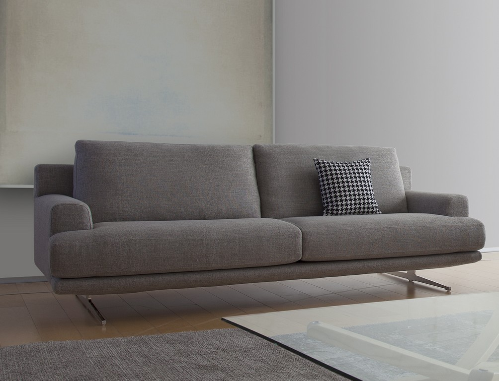 Coda Italian Fabric 3 Seat Sofa Coda 300 within dimensions 1258 X 962