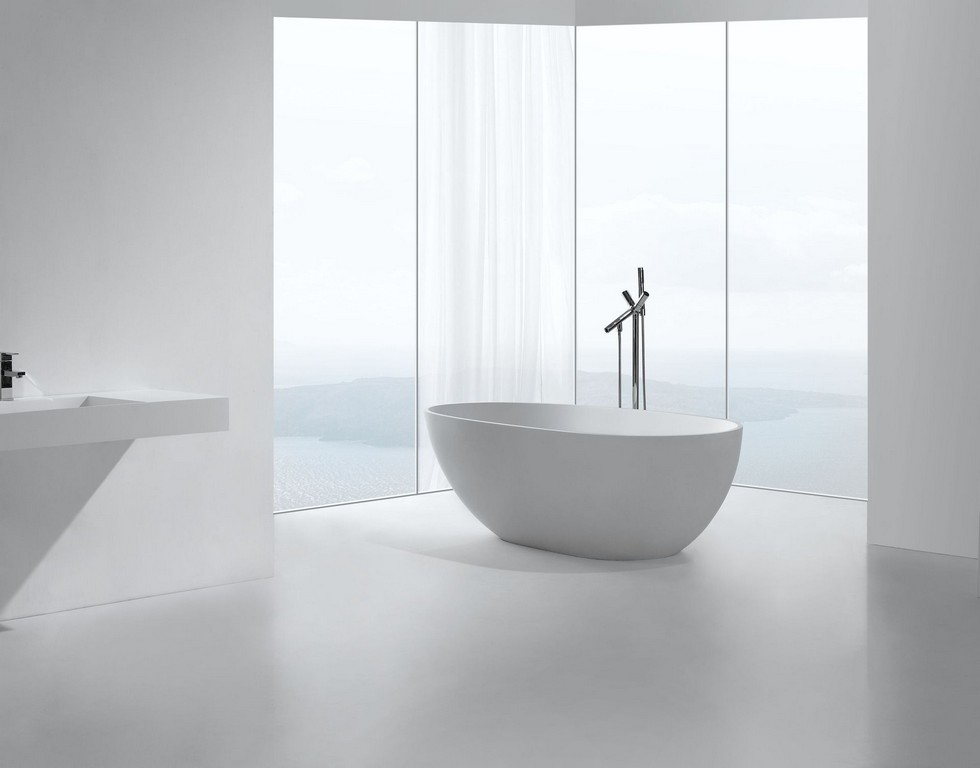 Mineralguss Badewanne Ladilo Freistehend Glasdeals with regard to size 1920 X 1504