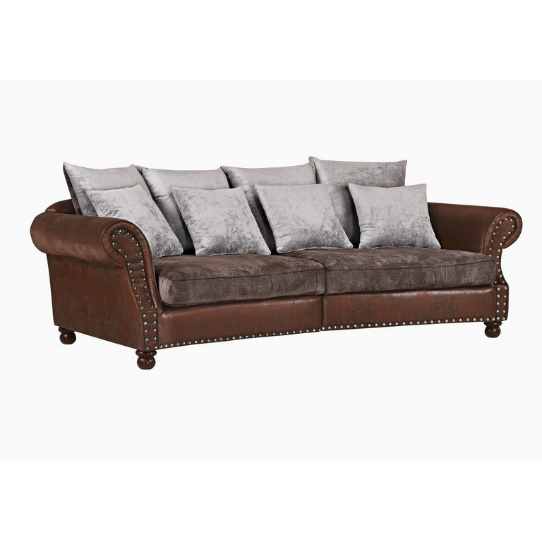 Phill Hill Megasofa Boston Braun Ca 270 X 82 X 145 Cm Porta throughout size 1200 X 1200