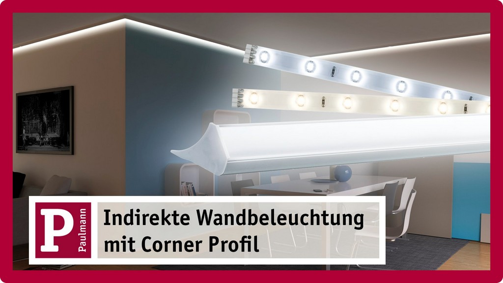 Indirekte Beleuchtung Stuckleisten Und Licht Voute Mit Led Strips pertaining to proportions 1920 X 1080