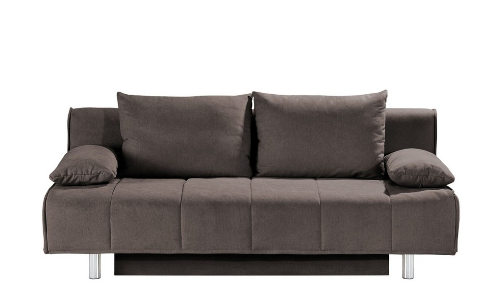Smart Schlafsofa Alina Braun Materialmix 200 Cm 90 Cm 100 in sizing 2000 X 1222