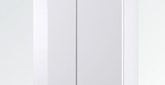 Bad Hngeschrank Small 2 Trig 50 Cm Breit Hochglanz Wei Bad intended for dimensions 1045 X 1080