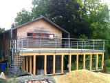 Carport Kosten Mit Schuppen Carports Balkon Garage Kombination For intended for measurements 1358 X 1014
