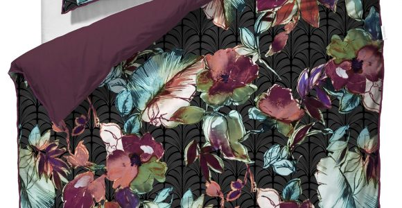 Essenza Ebony Mako Satin Bettwsche 155×220 80×80 Cm In Black intended for proportions 1485 X 2000