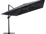 Haveson Led Ampelschirm Cremona 300×300 Cm Anthrazit Kaufen Bei throughout size 1200 X 1200