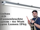 Led Leuchte Fr Garage Carport 150cm Montage Und Installation with regard to proportions 1920 X 1080