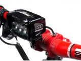Mtb Beleuchtung 99230 Vision R8 Led Mtb Lampe Mit Ppiger intended for proportions 1500 X 1000