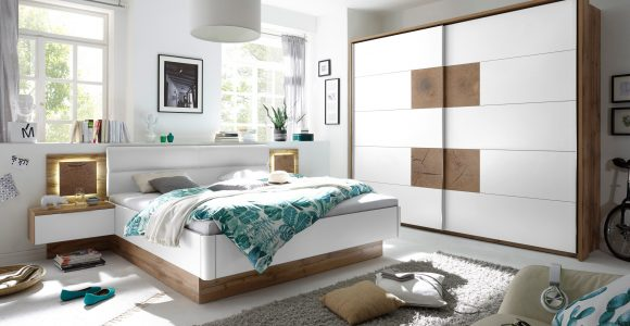 Pol Power Capri Schlafzimmer Wei Wildeiche Mbel Letz Ihr with regard to sizing 3508 X 2155