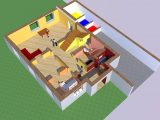 Projekt Einfamilienhaus with dimensions 1600 X 878